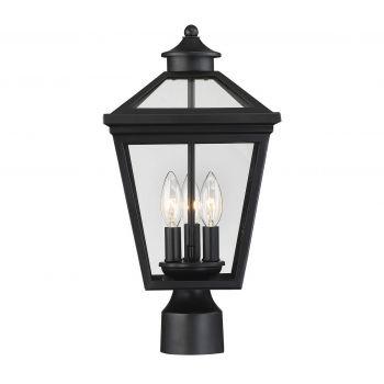 Savoy House Ellijay Post Lantern in Black