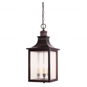 Savoy House Monte Grande Outdoor Hanging Lantern in English Bronze