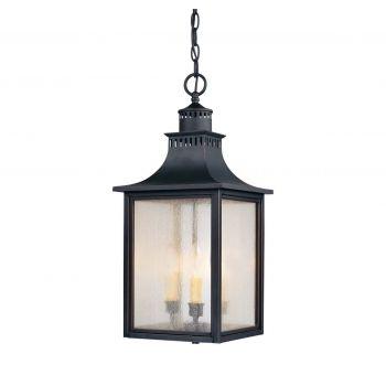 Savoy House Monte Grande Outdoor Hanging Lantern in Slate