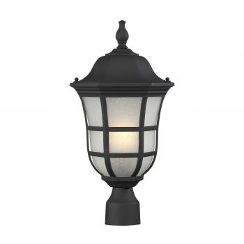 "Savoy House Ashburn 10"" Post Lantern in Black"