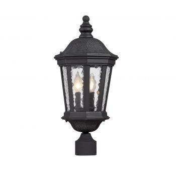Savoy House Hampden Outdoor Post Lantern in Black