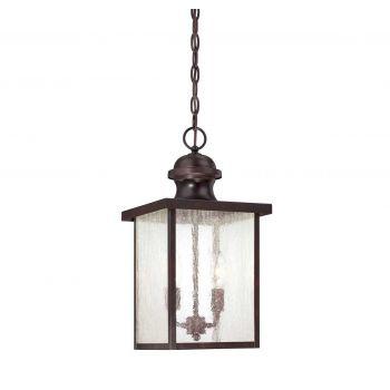 Savoy House Newberry Outdoor Hanging Lantern in English Bronze
