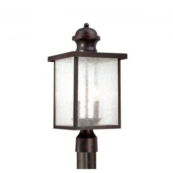 Savoy House Newberry Post Lantern in English Bronze