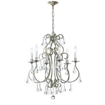 Crystorama Ashton 6-Light Hand Cut Crystal Chandelier