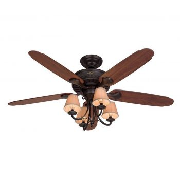 "Hunter Cortland 54"" Ceiling Fan in New Bronze"