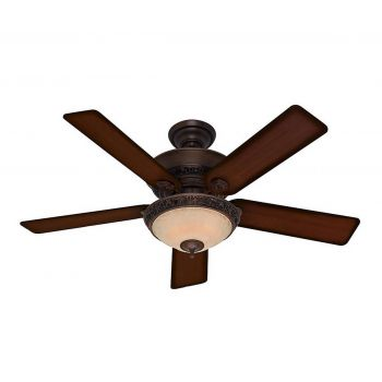 "Hunter Italian Countryside 52"" Ceiling Fan in Cocoa"