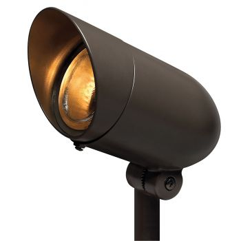 Hinkley 54000BZ 1-Light Outdoor Landscape 120V Spot in Bronze