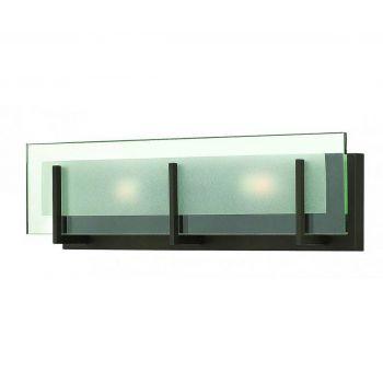 "Hinkley Latitude 18"" Bathroom Vanity Light in Oil Rubbed Bronze"