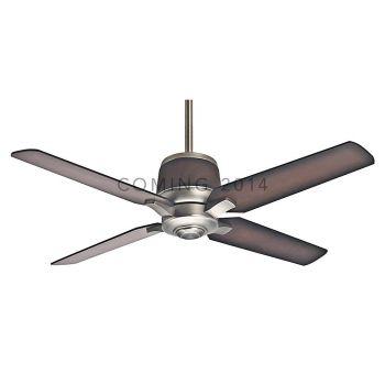 "Casablanca 54"" Aris Outdoor Ceiling Fan in Brushed Nickel"