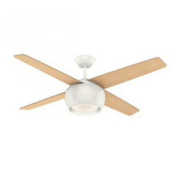 "Casablanca Valby 54"" LED Indoor Ceiling Fan in White"