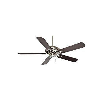"""Casablanca 60"""" Holliston Ceiling Fan in Brushed Nickel"""