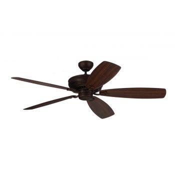 """Monte Carlo 60"""" Bonneville Max Ceiling Fan in Roman Bronze"""