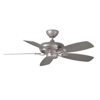 "Monte Carlo 44"" Designer Max II Ceiling Fan in Brushed Pewter"