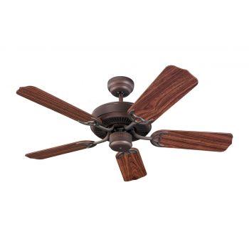 """Monte Carlo 42"""" Homeowner""""s Select II Ceiling Fan in Roman Bronze"""