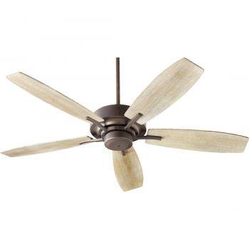 """Quorum SOHO 52"""" 5-Blade Indoor Ceiling Fan in Oiled Bronze"""