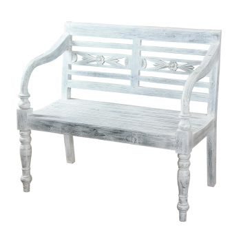 Sterling Industries Decorative Bench in Grey