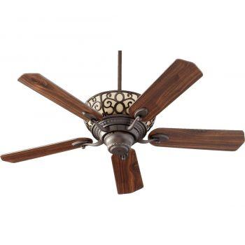 """Quorum Cimarron 52"""" 6-Light Indoor Ceiling Fan in Oiled Bronze"""