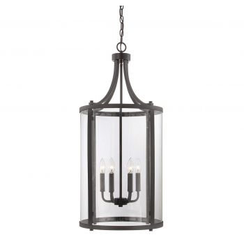 Savoy House Penrose 6-Light Foyer Lantern in English Bronze