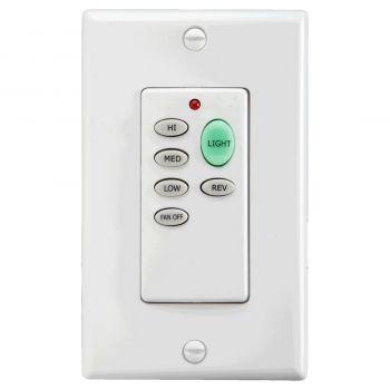 "Quorum Fan Accessories 4.75"" Fan Remote Control in White/Ivory"