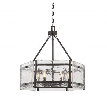 Savoy House Glenwood 6-Light Pendant in English Bronze