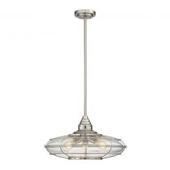 Savoy House Connell 3-Light Pendant in Satin Nickel