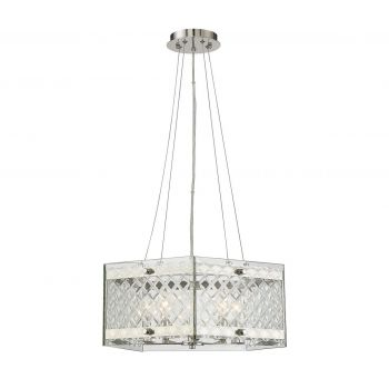 Savoy House Addison 5-Light Pendant in Polished Nickel