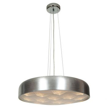Access Meteor 16-Light Dimmable LED Pendant in Brushed Silver