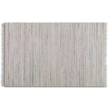 Uttermost Stockton 5 X 8 Rug in Rescued Off-White/Blue Denim
