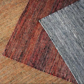 Uttermost Seeley 5 x 8 Natural Hemp Rug in Rust Red