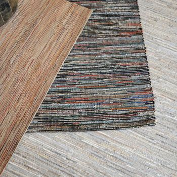 Uttermost Nyala 5 x 8 Rug in Dark Brown/Rust Red w/ Hints Of Blue
