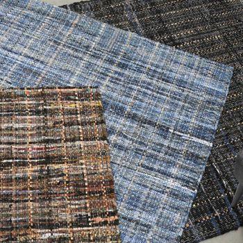 Uttermost Ramey 5 x 8 Hand Woven Rug in Khaki/Dark Brown
