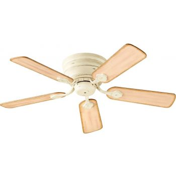 "Quorum Barclay Hugger 44"" 5-Blade Ceiling Fan in Persian White"