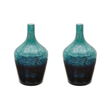 Dimond Home Vases, Jars & Vessels in Green Ombre