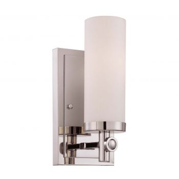 Savoy House Manhattan Wall Sconce in Polished Nickel