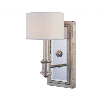Savoy House Caracas Wall Sconce in Argentum