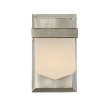Savoy House Dylan 1-Light Sconce in Polished Pewter
