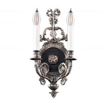 Savoy House Empire - XIV Century 2-Light Wall Sconce in Silver