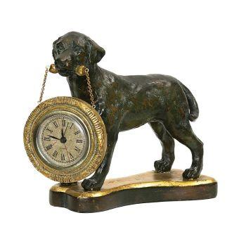 Sterling Industries Labrador Retriever Desk Display Clock