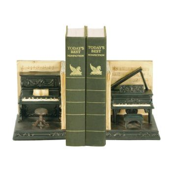 Sterling Industries Pair of Dueling Piano Bookends