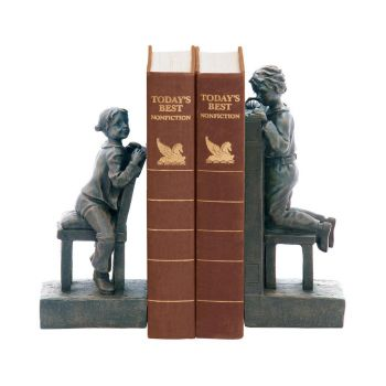 Sterling Industries Pair of Peek A Boo Bookends