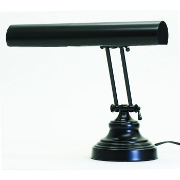 "House of Troy Advent 14"" Piano Desk Lamp in Black Finish"