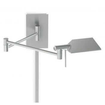 WAC Lighting Cue Collection LED Swing Arm in Chrome