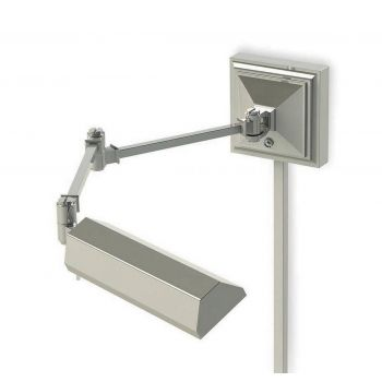 WAC Lighting Hemmingway LED Swing Arm in Polished Nickel