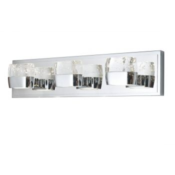 "ET2 Volt LED 21"" 6-Light Bath Vanity in Polished Chrome"