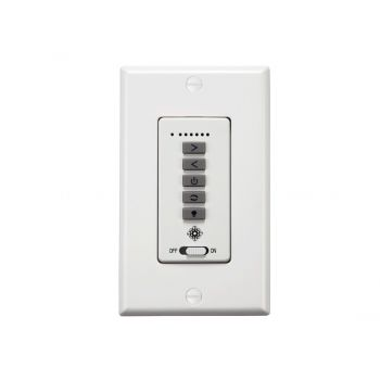 Monte Carlo 6-Speed Wall Control in White