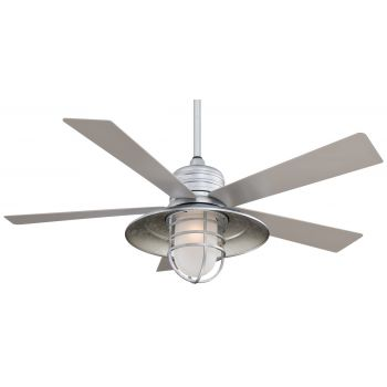 Minka-Aire Rainman Ceiling Fan in Galvanized