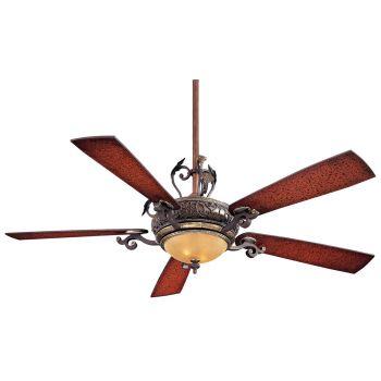 """Minka-Aire Napoli 56"""" Ceiling Fan in Sterling Walnut"""