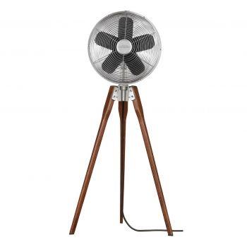 Fanimation Arden Portable Fan in Satin Nickel