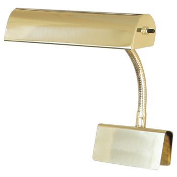 """House of Troy Grand Piano Lamp 10"""" Polished Brass"""