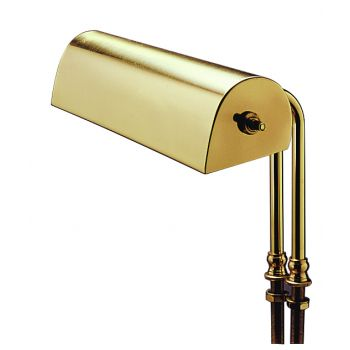 "House of Troy Lectern Light 10"" Polished Brass Finish"